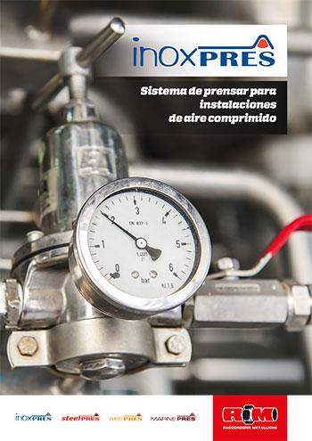 Sistema de Prensar para instalaciones de Aire comprimido